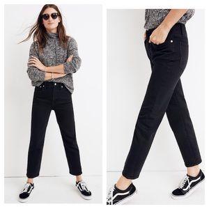 Madewell Jeans Classic Straight 32 Lunar Mom High